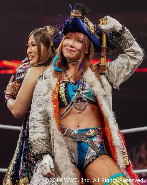 紫雷イオとカイリ・セインが4WAYでのNXT女子王座戦で正々堂々の戦いを宣言!