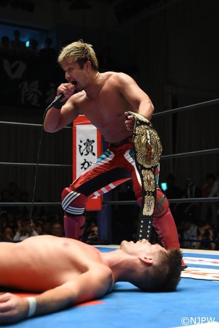 G1 CLIMAX選外のYOSHI-HASHIが開幕戦第0試合でのG1出場権争奪バトルロイヤルを提案!
