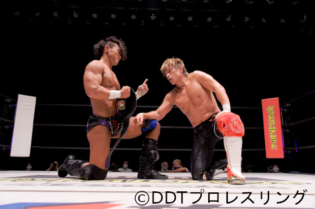KO-D無差別級王者・遠藤哲哉が田中稔を破り、「KING OF DDT」トーナメント準決勝進出!