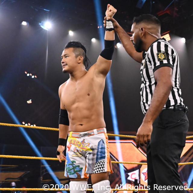 KUSHIDAが新NXT王者フィン・ベイラーを挑発!「俺は必ずお前のもとに辿り着く」