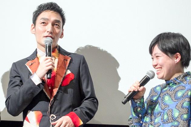 草彅剛、須藤理彩が鶴岡監督の手腕を絶賛!『まく子』完成披露上映会