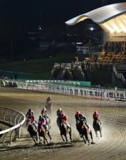 誤審があった「北海道2歳優駿」が開かれた門別競馬場