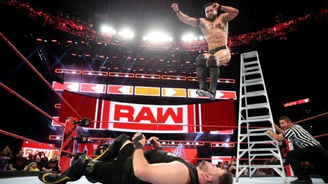 【WWE】ベイラー、MITB前哨戦でラダー最上段からクー・デ・グラ