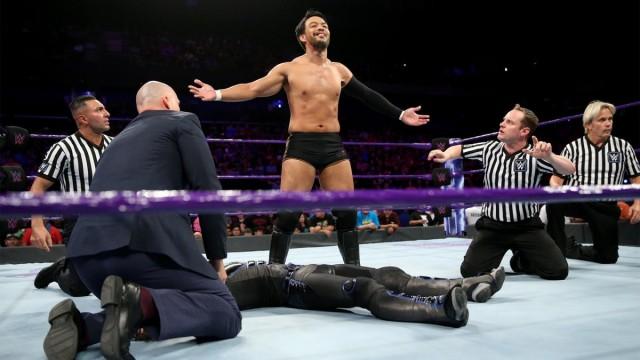 【WWE】ヒデオ・イタミ、試合乱入でクルーザー級王座戦線に名乗り!