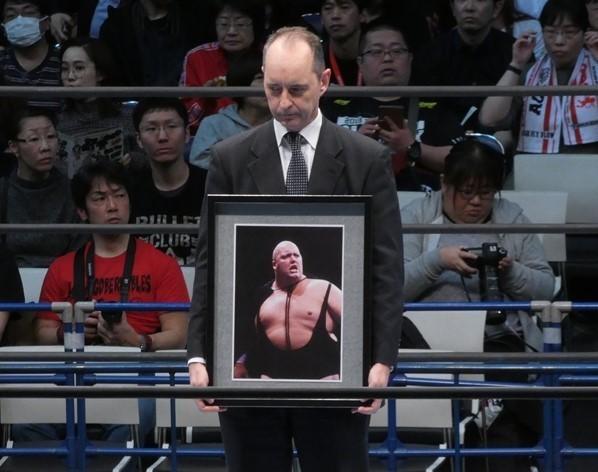 """【新日本】元プロレスラー、""""巨鯨""""キングコング・バンディを追悼"""