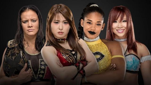 【WWE】紫雷イオ、カイリが王座挑戦!王者シェイナ乱入で王座戦はフェイタル4ウェイ戦へ