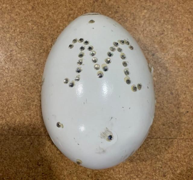 【編集長もビックリ!お宝拝見‼】④「インリン様の卵」