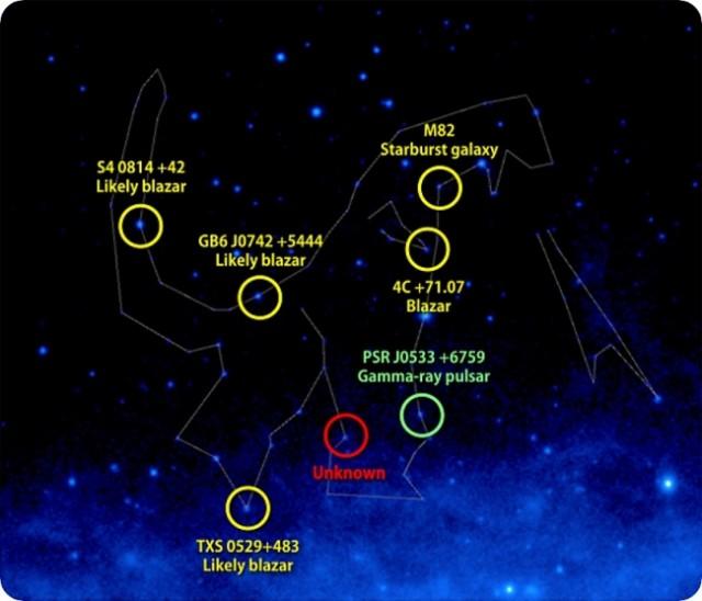 日本の大怪獣「ゴジラ」が星座に選定。NASAとガンマ線天体研究チームより