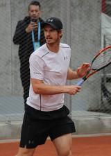 全仏オープン時のマレー[写真/tennis365.net]