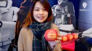 弘前で「スター・ウォーズ」公開でファンらがコスプレ 絵入りリンゴも