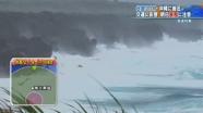 台風21号、沖縄の南海上を進行