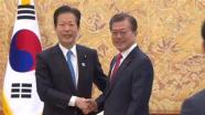 韓国大統領が公明代表と会談「早く日本を訪れたい」