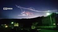 イプシロン3号機打ち上げ成功、上空に「珍しい雲」