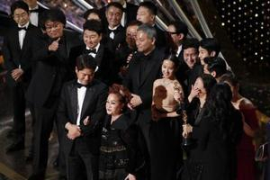 作品賞に韓国の「パラサイト」
