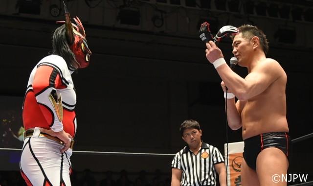 """鈴木みのるが獣神サンダー・ライガーへ17年越しに総合ルールの再戦要求!「テメーのやってるプロレスは""""お面を被った着ぐるみショー""""だ」"""