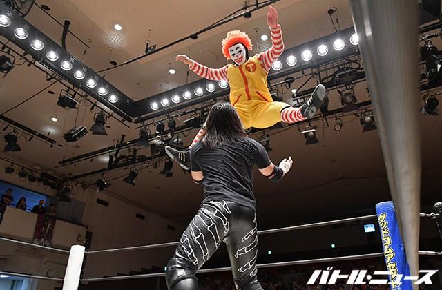 香川県・UDONプロレスの魔苦・怒鳴門が後楽園ホール初上陸!