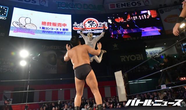 愛媛プロレスが東京ドーム大会に初出場も神奈川県代表に完敗!