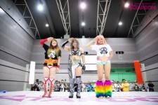 現WWEのアスカに憧れてプロレスラーになった小波が西日本豪雨の爪痕残る故郷へ凱旋!