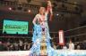 """9周年を迎えた""""女子プロレスのアイコン""""岩谷麻優が渡辺桃から赤いベルトを防衛しSareeeとの王座戦へ!「麻優も猿も木から落ちるくらい成長した」"""