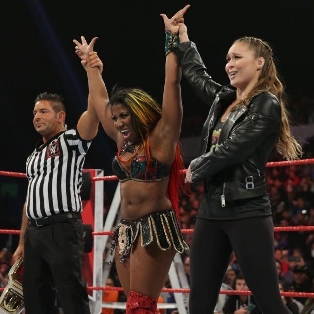 【WWE】ロンダ&エンバーが2週連続で前哨戦勝利