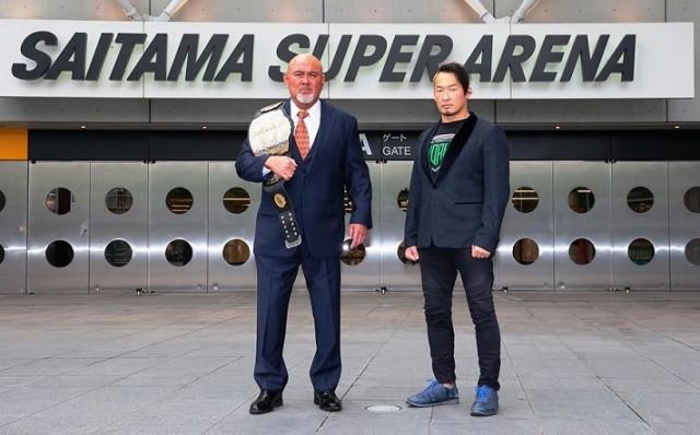 【サイバーフェス6・6さいたまSA】挑戦者・丸藤正道がGHC王座獲り宣言!王者・武藤敬司は「自分の自信あるプロレスで勝負したい」と余裕しゃくしゃく