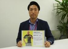 """【特別インタビュー】""""撮れ高100%""""大日本プロレスの岡林裕二選手をモデルに起用した企業に聞く、その理由と狙いとは?"""