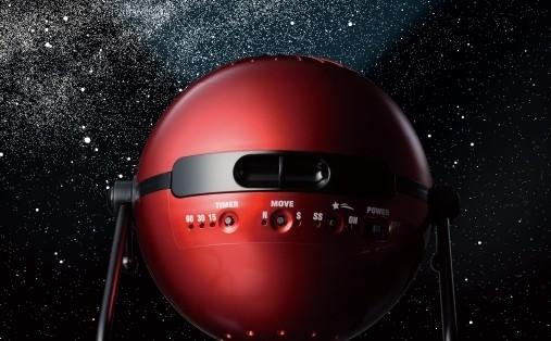 火星から見た星空を再現した家庭用プラネタリウム