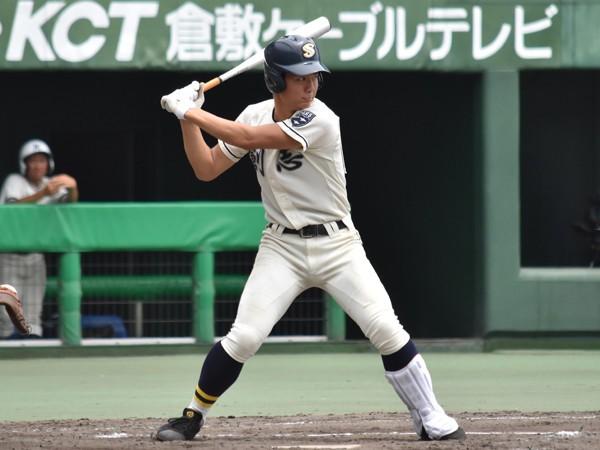 最速148キロ、県大会2本塁打。創志学園のマルチプレーヤーは根尾昂級