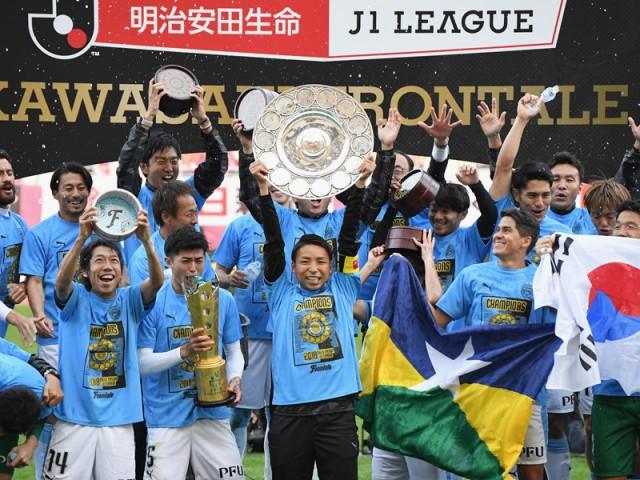 J1連覇の川崎フロンターレが示す「日本らしいサッカー」の方向性