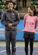 日本テニスの聖地が大改修。錦織、伊達が語る「有明でうれしかったこと」