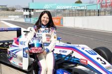 最速美女ドライバー「愛ちゃん」は、マカオGPを目指してF3を戦う