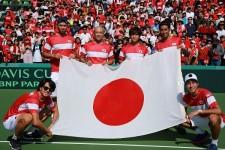 テニス日本代表の世代交代。岩渕ジャパンは選手層の厚さでデ杯完勝