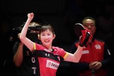 Tリーグで13戦全勝→初代MVP。早田ひなの成長ぶりがハンパない
