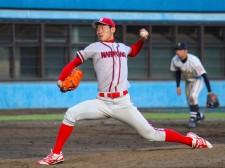 投手の経験は浅いが最速146キロをマークするなど、高い能力を見せる菅田大介